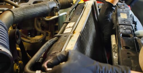 replacement radiator jeep jk