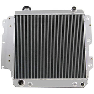 STAYCO CoolingSky Aluminum Radiator for 1987-06 Jeep Wrangler YJ TJ 2.4/2.5/4.0/4.2L - Direct Replacement