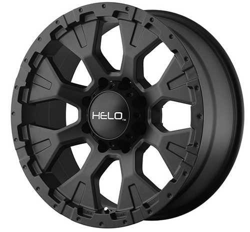 Helo HE878 Wheel with Satin Black Finish