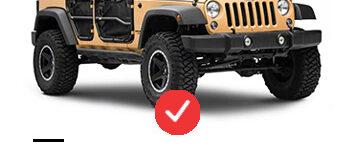 Jeep Wrangler JK Tubular Doors
